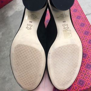 Tory Burch Shoes - Tory Burch Black Therese Pumps